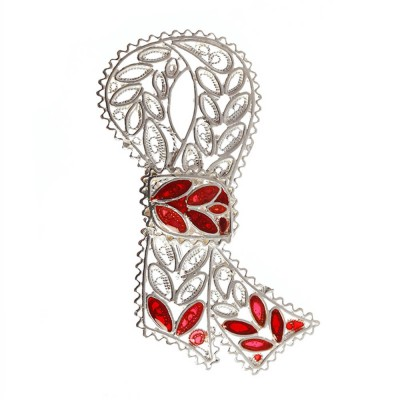 Fligree Knot Brooch